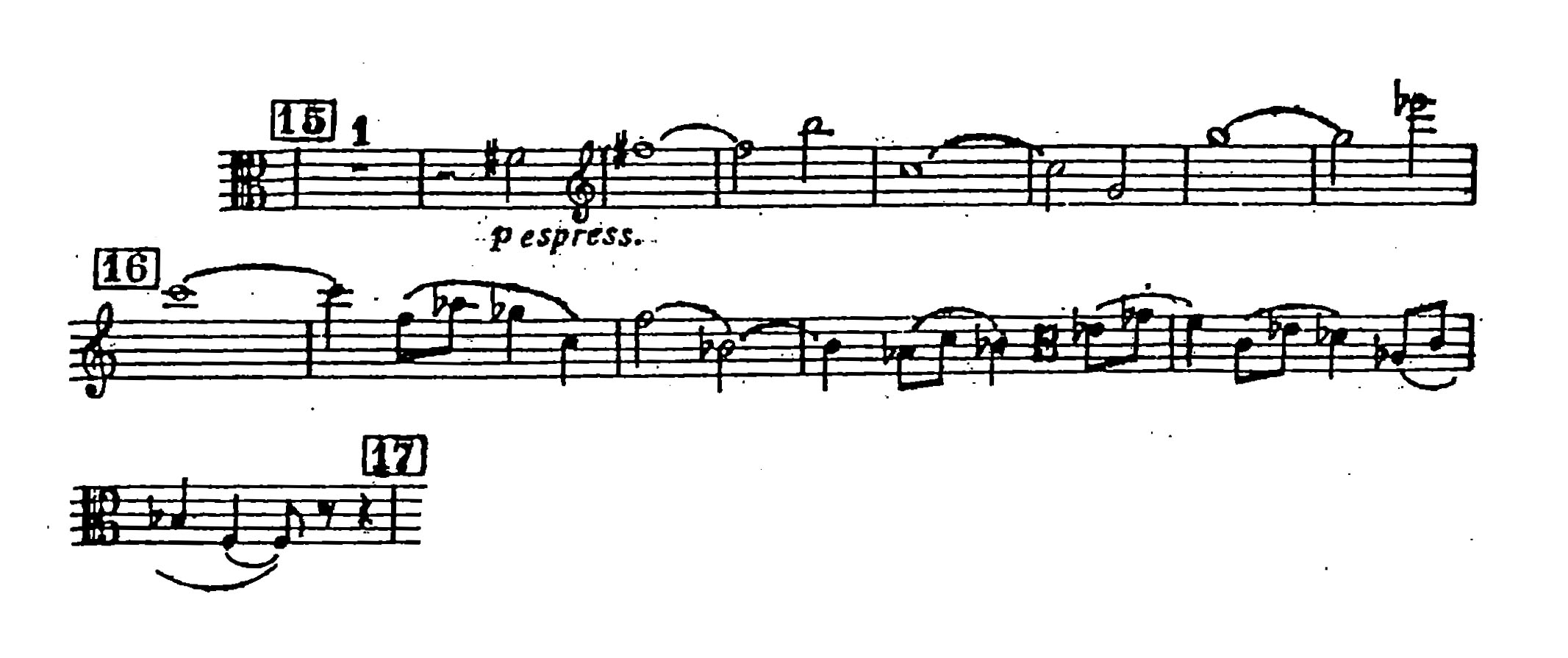 Viola Orchestral Excerpt Shostakovich Symphony 5