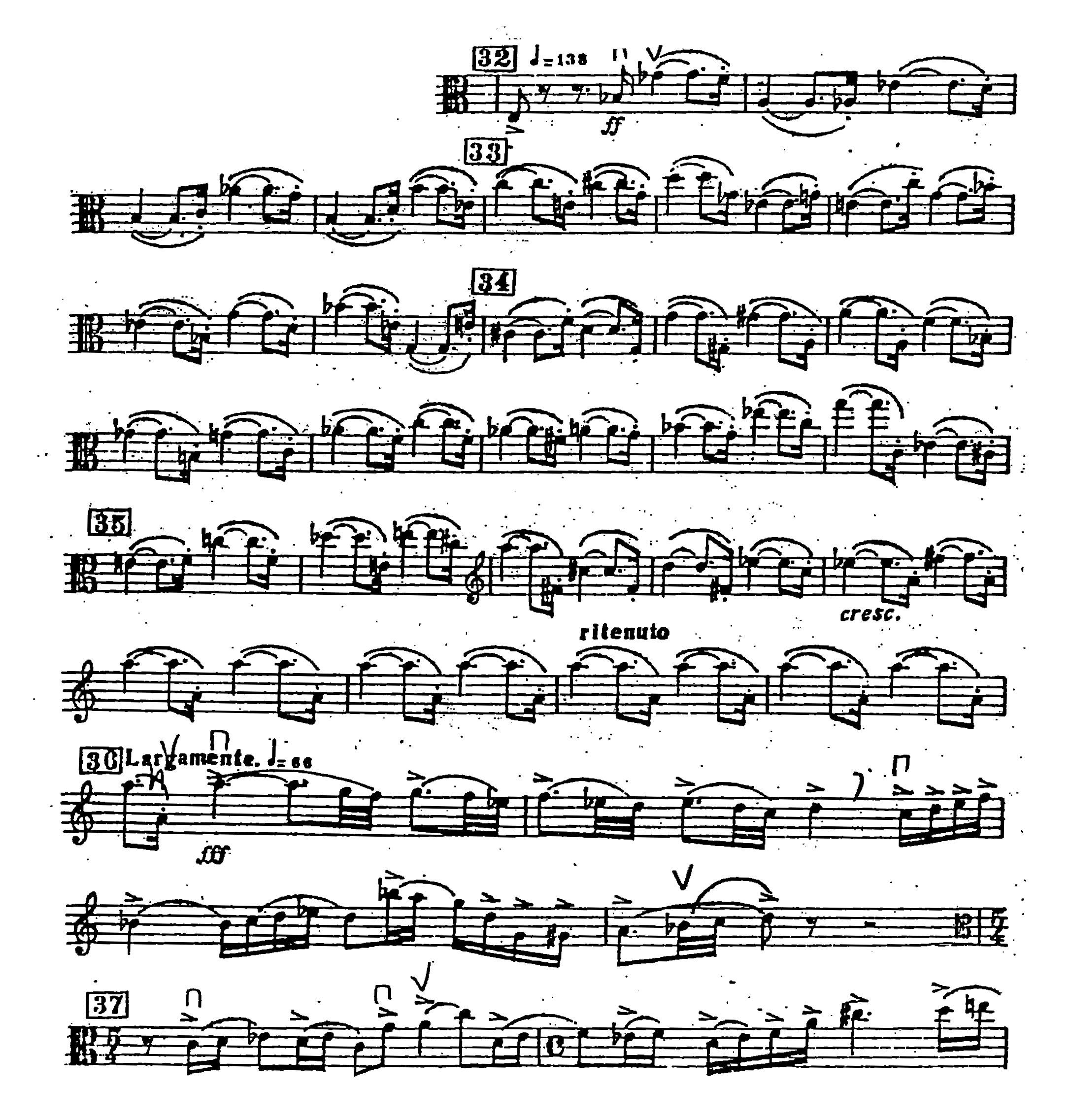 Viola Orchestral Excerpts Shostakovich 5 Excerpt2
