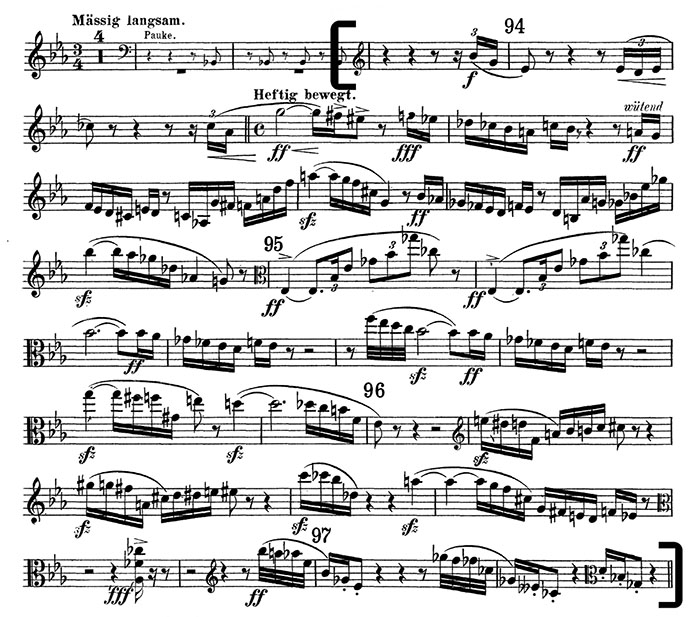 Strauss Viola Excerpt Symphony Audition