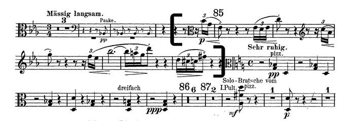 Viola Excerpts Detroit Symphony Audition